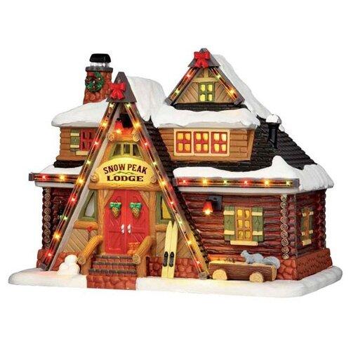 Фигурка Lemax гостиница Снежный пик 18 х 23 х 15 см коричневый по цене 8 316