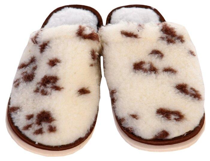 Тапочки ivshoes белый/пятна 35-36