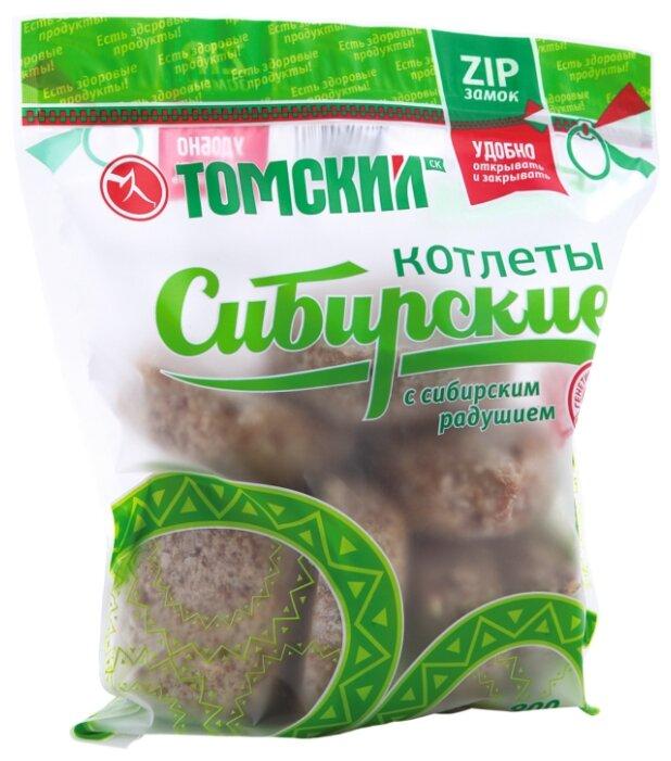 Томский Замороженные Котлеты Сибирские 900 г