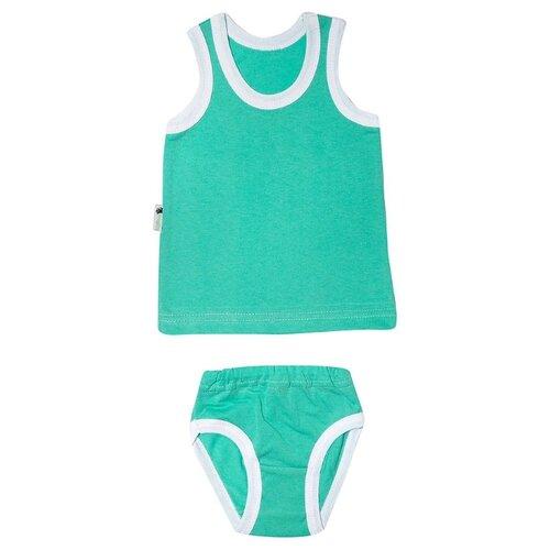 Фото - Комплект одежды Клякса размер 26, зеленый комплект одежды клякса размер 86 желтый