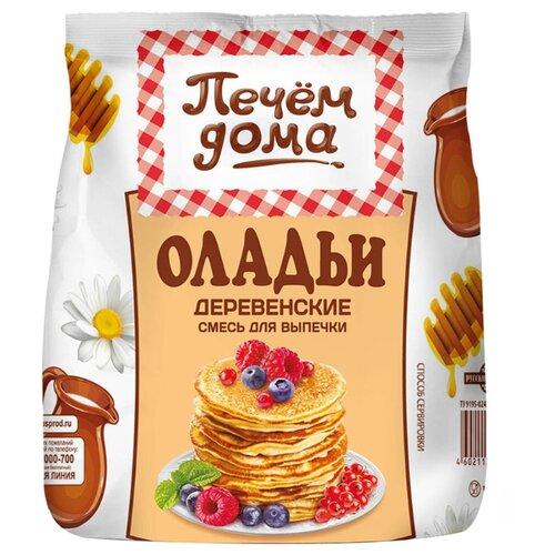 Печём Дома Смесь для выпечки Оладьи Деревенские, 0.3 кг