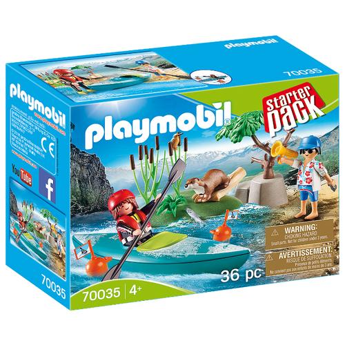 Купить Набор с элементами конструктора Playmobil Family Fun 70035 Приключения на байдарках, Конструкторы