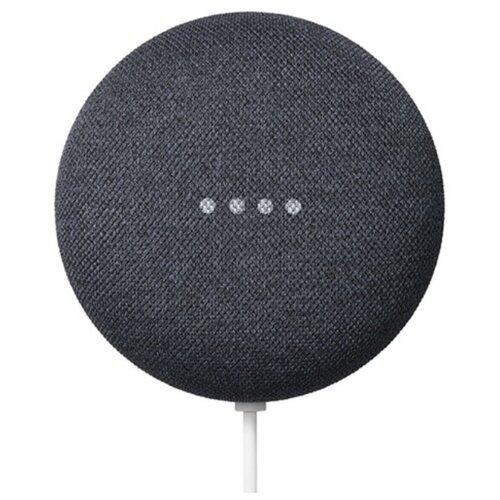 Умная колонка Google Nest Mini (2nd gen), charcoal