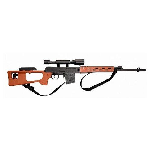 Резинкострел из дерева Армия России СВД Снайперская винтовка