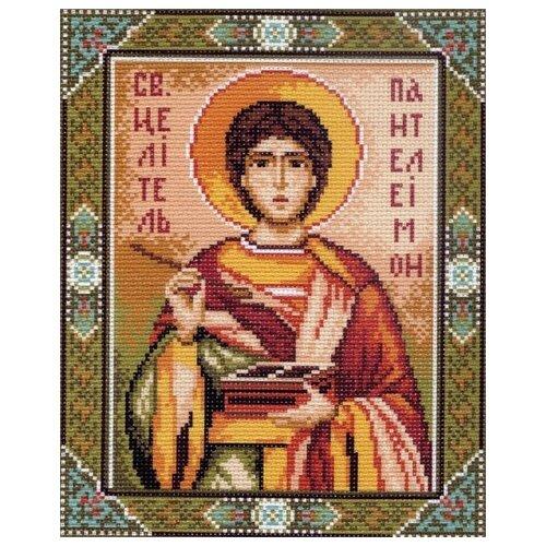 Купить Святой Пантелеймон Рисунок на канве 28/37 28х37 (20х25) Матренин Посад 0723-1, Матрёнин Посад, Канва