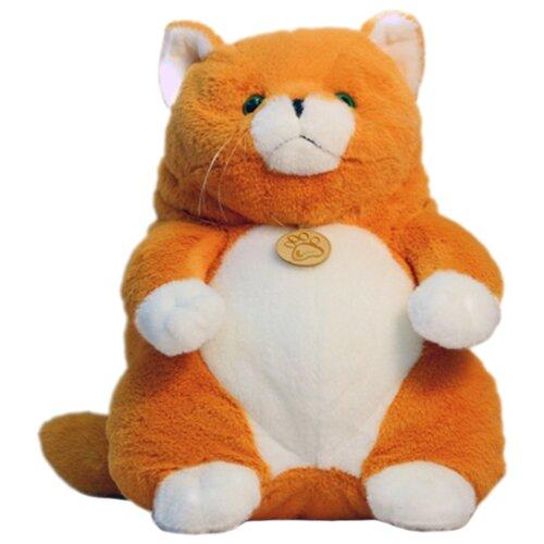 Купить Мягкая игрушка Lapkin Толстый кот рыжий 20 см, Мягкие игрушки