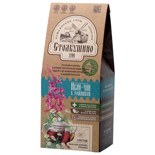 Чай травяной Столбушинский Иван-чай с ромашкой, 60 г чай травяной столбушинский иван чай с чабрецом и дущицей 30 г