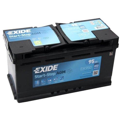 цена на Автомобильный аккумулятор Exide Start-Stop AGM EK950