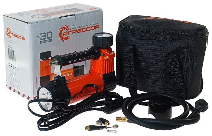Купить Autoprofi Агрессор компрессор 30 л/мин. по низкой цене с доставкой из Яндекс.Маркета (бывший Беру)
