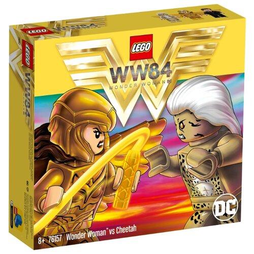 цена Конструктор LEGO DC Super Heroes 76157 Чудо-женщина против Гепарды онлайн в 2017 году