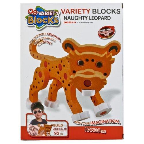 Купить Мягкий конструктор Variety Blocks 3118 Леопард, Конструкторы