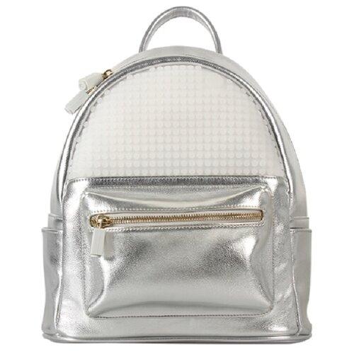 Фото - Мини рюкзак Poker Face Backpack WY-A020, цвет серебряный upixel рюкзак canvas classic pixel backpack wy a001 желтый