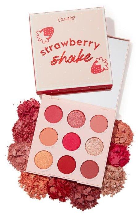 ColourPop Палетка теней Strawberry Shake — купить по выгодной цене на Яндекс.Маркете