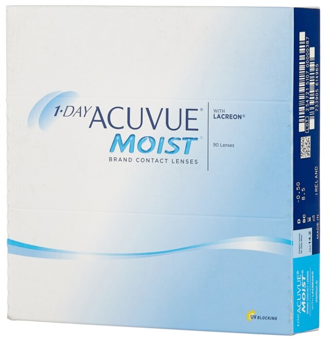 Acuvue 1-Day Moist (90 линз)