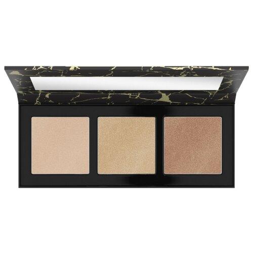 CATRICE Палетка для макияжа Luminice Highlight & Bronze Glow Palette 020 Feel Gold фото