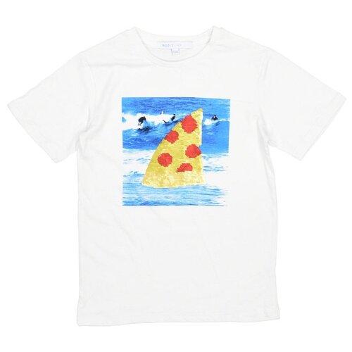 Футболка MODIS размер 158, белый рубашка modis размер 158 белый