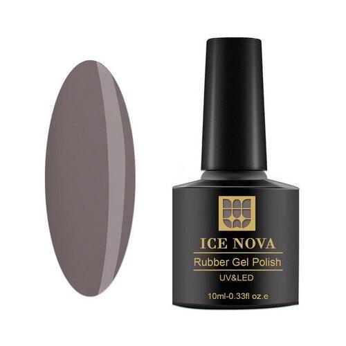 Гель-лак для ногтей ICE NOVA Rubber Gel Polish, 10 мл, 036 гель лак для ногтей ice nova rubber gel polish 10 мл 185