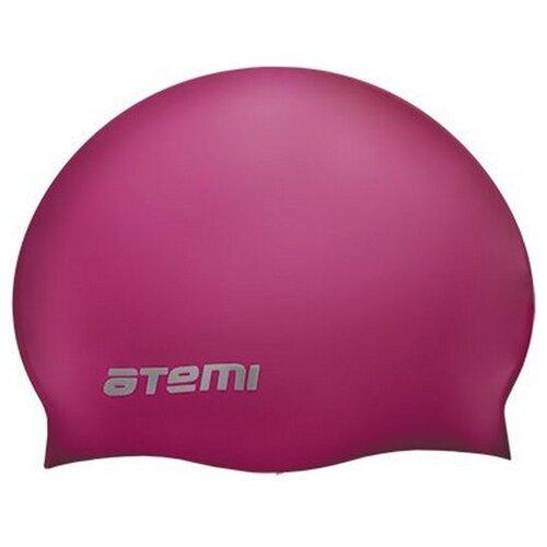 Шапочка для плавания ATEMI TC404, малиновый