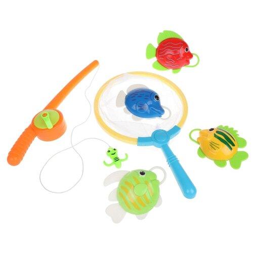 Купить Рыбалка Наша игрушка 613241 разноцветный, Развитие мелкой моторики