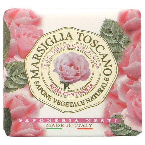 Мыло кусковое Nesti Dante Marsiglia Toscano Rosa Centifolia, 200 г nesti dante мыло vero marsiglia мед 150 г
