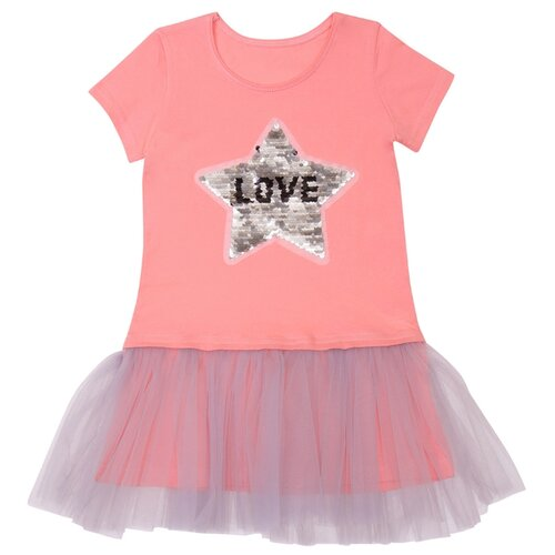 Платье ALENA размер 134-140, розовый