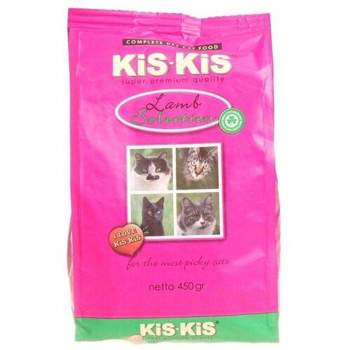 Корм для кошек Kis-kis с ягненком 450 г набор декоративный kis kis mp002xu02iz1