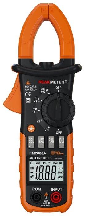 Токовые клещи Peakmeter MS2008A