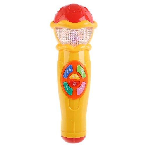Умка микрофон A848-H05031-R9 желтый/красный умка микрофон a848 h05031 r9