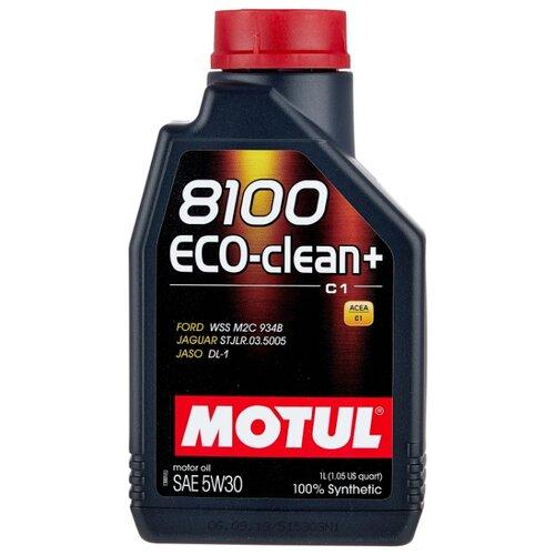 Моторное масло Motul 8100 Eco-clean+ 5W30 1 л моторное масло motul 8100 eco lite 0w 20 1 л