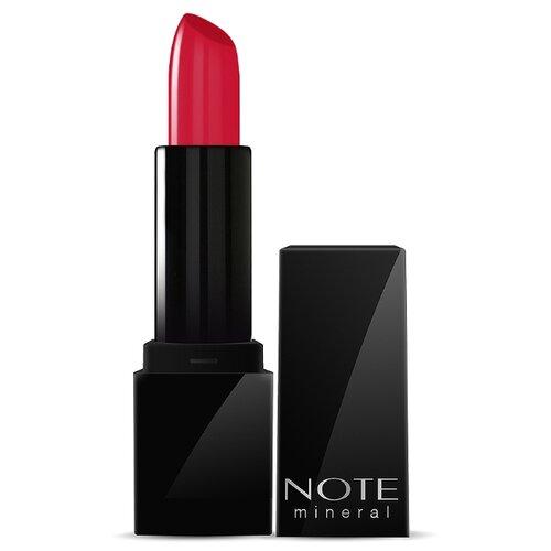 Note Помада для губ Mineral Lipstick, оттенок 04 Burn red