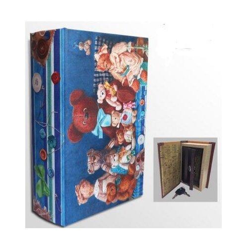 Фото - Шкатулка-сейф Медвежата, 17х11х5 см шкатулка сейф глобус феникс презент 17х11х5 см