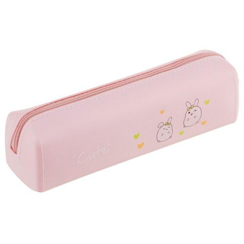Купить ArtSpace Пенал Cute (DS_18021) розовый, Пеналы