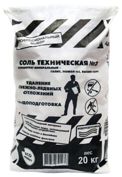 Противогололедный реагент Rockmelt Соль техническая № 3