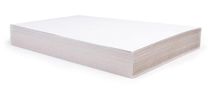 Неокрашенный картон для подшивки документов немелованный BRAUBERG, A3, 100 л.