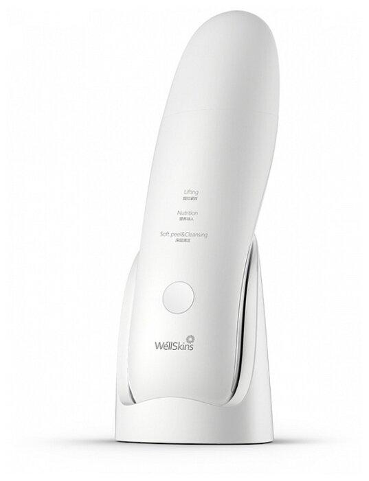 Xiaomi Ультразвуковой прибор для лица WellSkins Ultrasonic Cleansing Beauty — купить по выгодной цене на Яндекс.Маркете в Москве