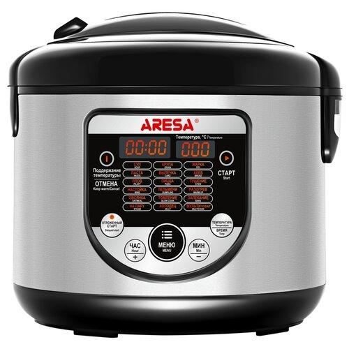 Мультиварка ARESA AR-2008, черный/серебристый