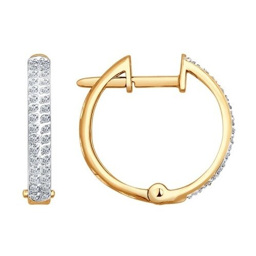 SOKOLOV Серьги кольца с бриллиантами 1020519 кольца sokolov 93010540 s