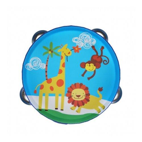 Купить Mapacha бубен 76813 голубой, Детские музыкальные инструменты