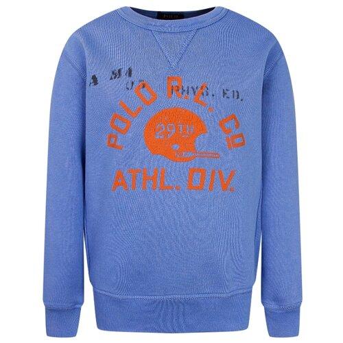Купить Свитшот Ralph Lauren размер 122, new england blue, Толстовки