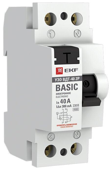 УЗО EKF 300мА тип AC ВДТ-40 2 полюса