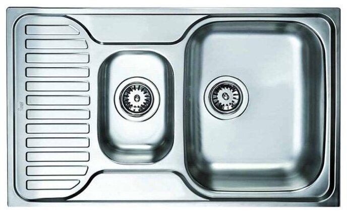 Врезная кухонная мойка TEKA Princess 1 1/2B 1/2D 80х50см нержавеющая сталь — купить по выгодной цене на Яндекс.Маркете