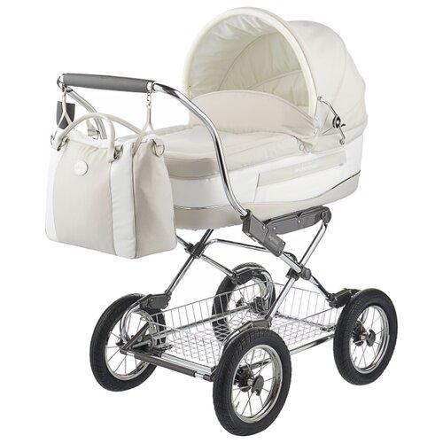 Коляска для новорожденных Inglesina Vittoria (шасси Comfort Chrome) betulla chrome/blueКоляски<br>