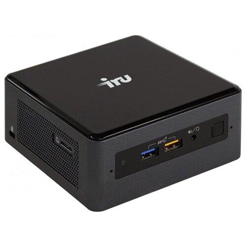 Неттоп iRu NUC 115 (1416230) Tiny-Desktop/Intel Core i5-8259U/8 ГБ/240 ГБ SSD/Intel Iris Plus Graphics 655/Windows 10 Pro черный
