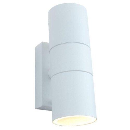 Arte Lamp Уличный настенный светильник Mistero bianco A3302AL-2WH уличный светильник arte lamp a3302al 1bk
