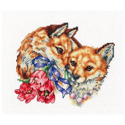 Купить Сделай своими руками Набор для вышивания Счастливы вместе 18 x 15 см (С-49), Наборы для вышивания