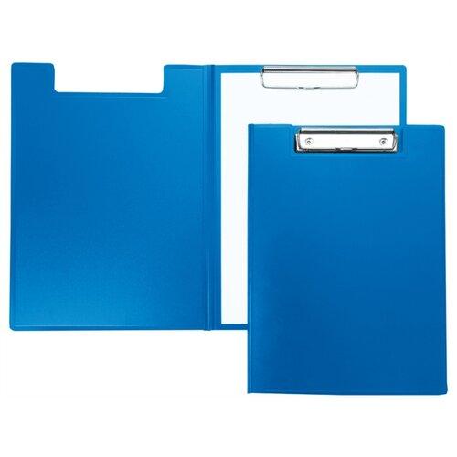 Berlingo Папка-планшет с зажимом А4, пластик синий планшет