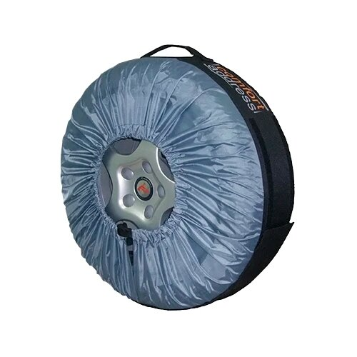 Чехлы для шин Comfort Address BAG-015 R13-20, 1 шт черный/серый