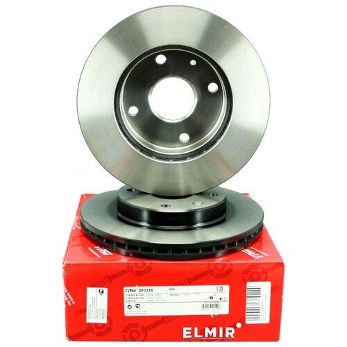 Комплект тормозных дисков передний TRW DF7218 256x24 для Chevrolet Lacetti, Daewoo Nubira, Daewoo Orion (2 шт.)