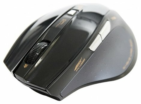 Мышь e-blue Fresco Pro 2.4GHz Wireless mouse EMS107BK Black USB