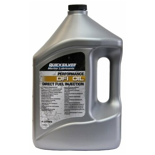 Полусинтетическое моторное масло Quicksilver DFI Oil OptiMax 4 л недорого